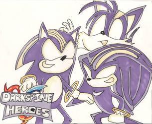 Darkspine Sonic and Friends by urbanotaku