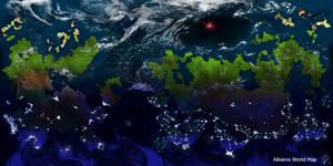 Fantasy World Map: Planet Alkairos