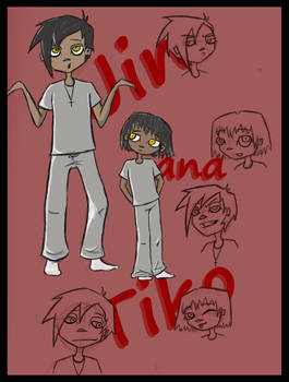 Jin and Tiko Chara sheet