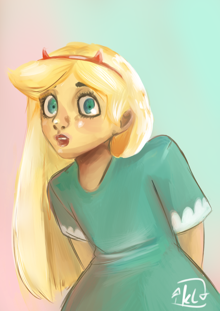 Star Butterfly REPOST by eclipsesong