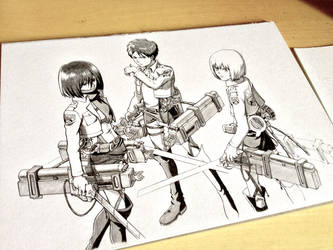Attack on Titan WIP by BrendanPark
