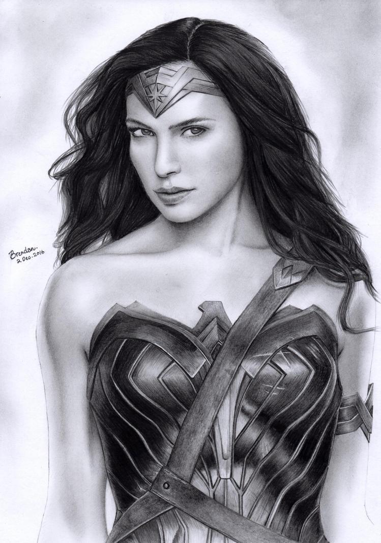 Wonder Woman (Gal Gadot) by BrendanPark