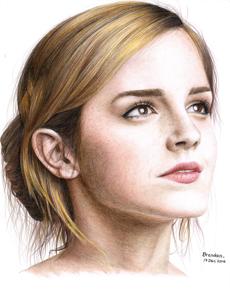 Emma Watson by BrendanPark