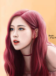 Rose - Blackpink by BrendanPark