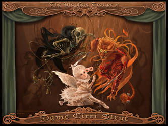 Dame Cirri Strut by tracyjb