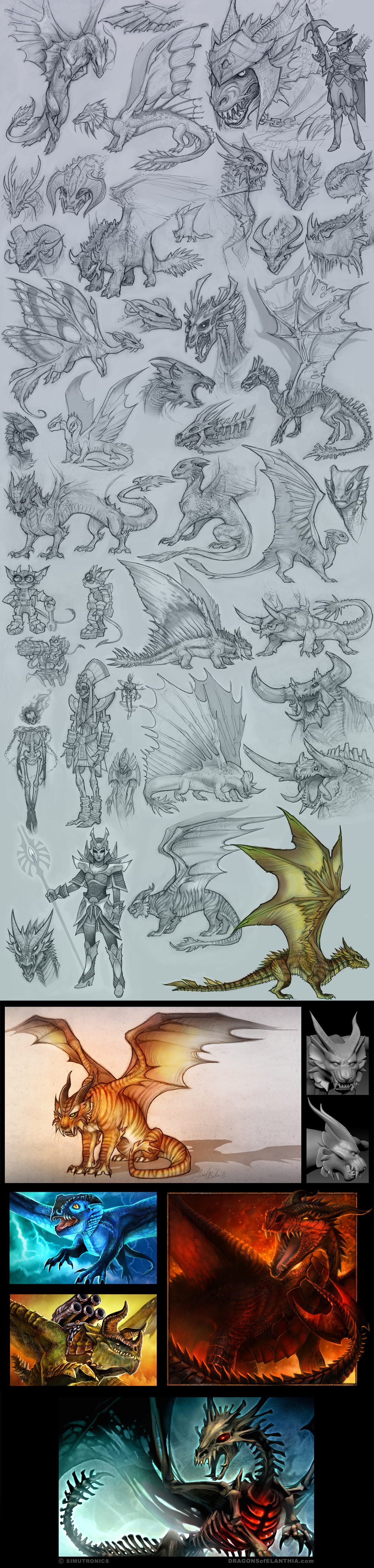 Dragons Dragons Dragons by tracyjb