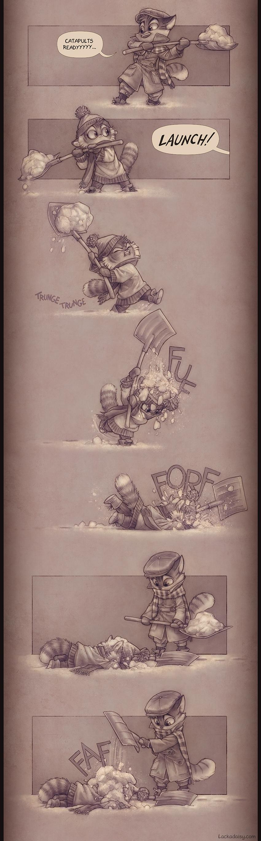 Lackadaisy Catapult by tracyjb