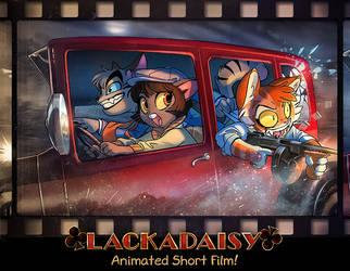 Lackadaisy Shootout by tracyjb