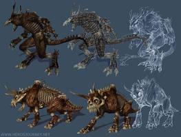 Hero's Journey Creatures 1