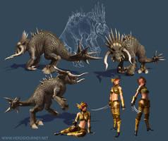 Hero's Journey Creatures 2