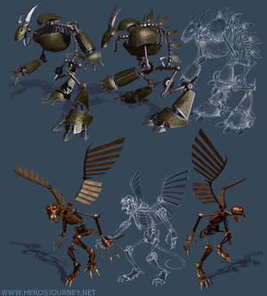 Flying Monkey Death Bot