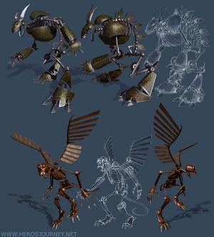 Flying Monkey Death Bot