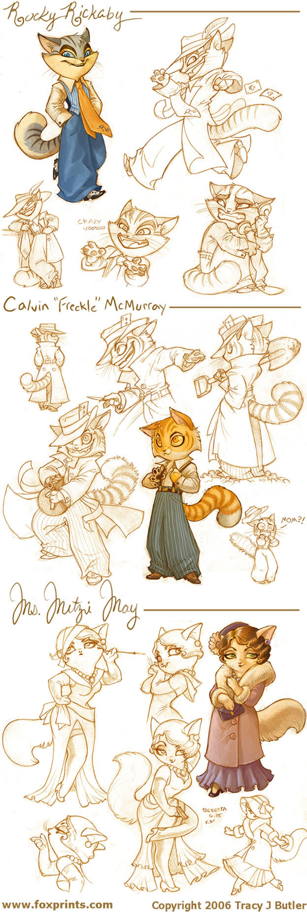 Lackadaisy Cats by tracyjb