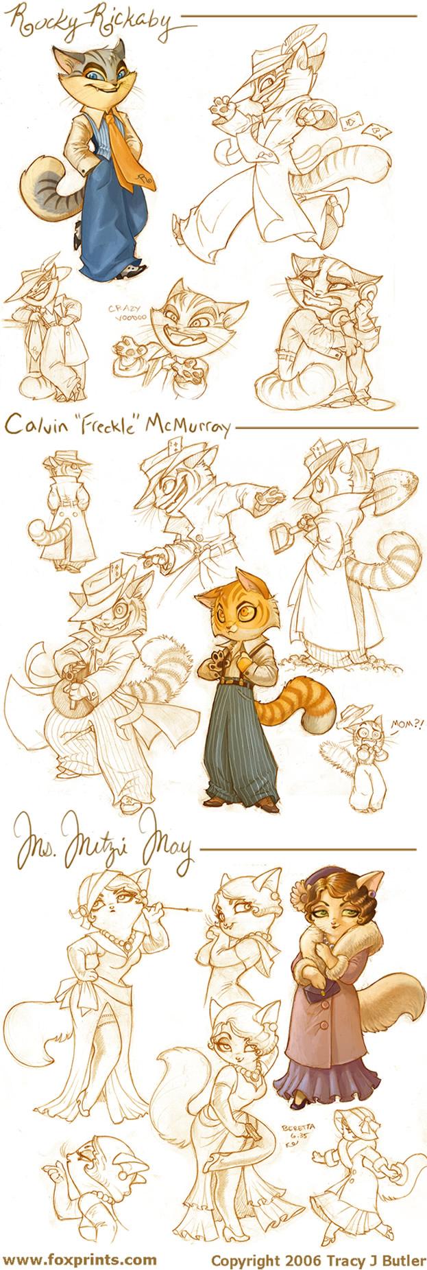 Lackadaisy Cats