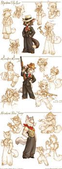 Lackadaisy Marigold