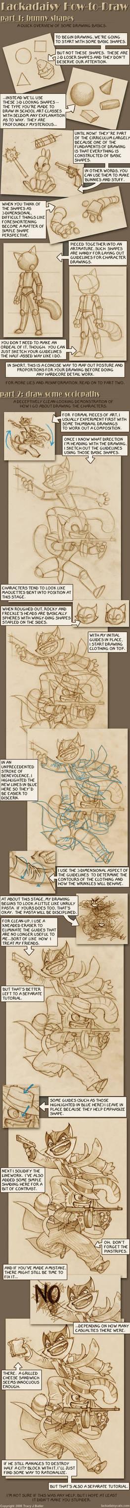 Lackadaisy How-to-Draw