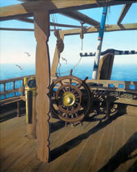 Aboard Fateh Elkhair by Nawaf-Alhmeli