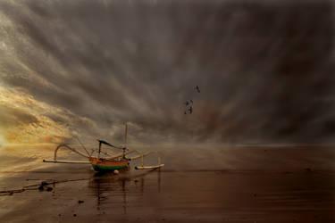 Morning Ship by chdelont