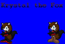 Krystal the Fox by NiccoRae77