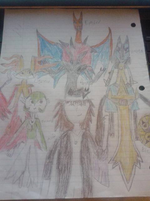 NR77 Pokemon Team (Y) by NiccoRae77
