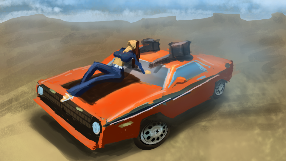 gameSketch 33: Interstate 76 by ixaarii