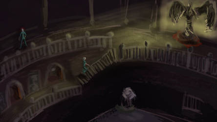gameSketch73: Sanitarium by ixaarii