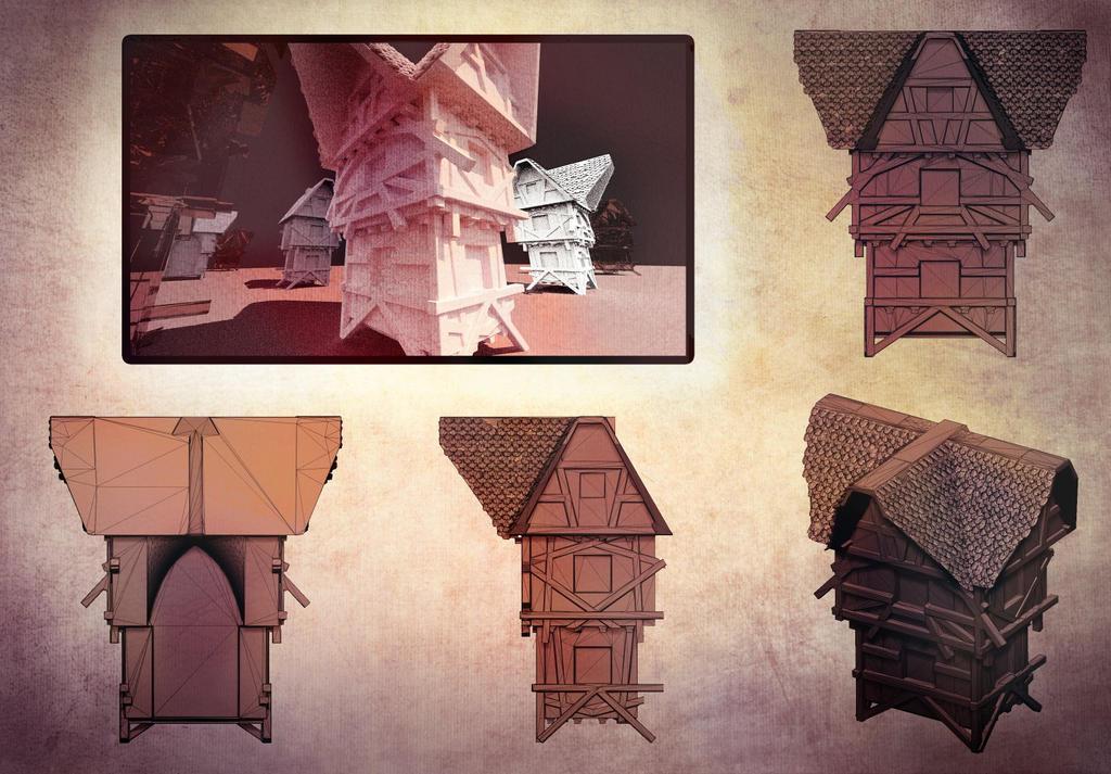 Oldcontinental Haus by ixaarii