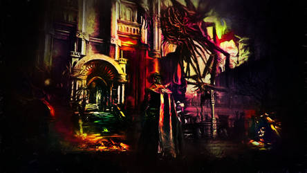 gameSketch407  - Bloodborne - Void lon iXaarii