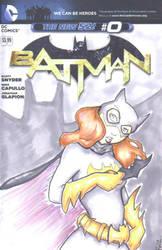 Batman Cover Batgirl