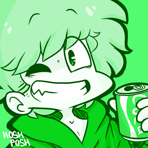 Green Boy by HoshPosh