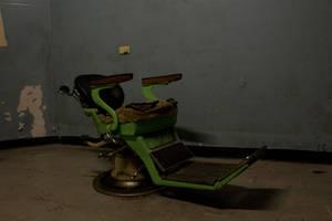 Creepy Medical Chair, Old Geelong Gaol 5
