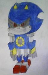 Metal Sonic in MINECRAFT by hyper235