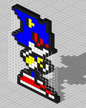 Metal Sonic Pixel Art - #traffic-club