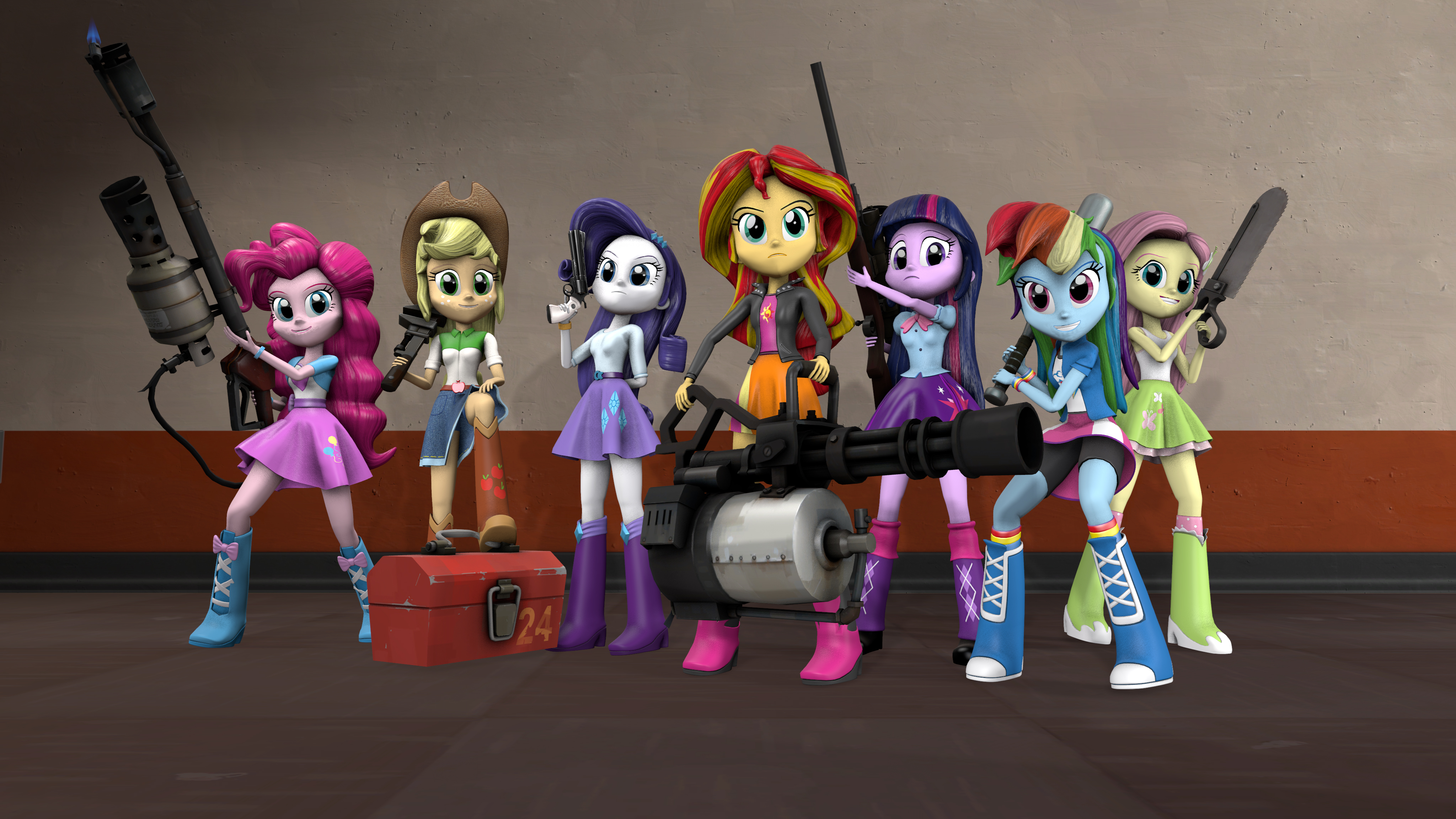 Dazzlings Human or Pony - Versus Ponyville - Ponyville net