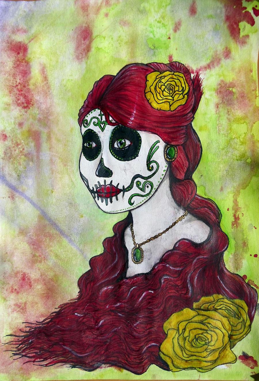 La Catrina by Ebrius-ART