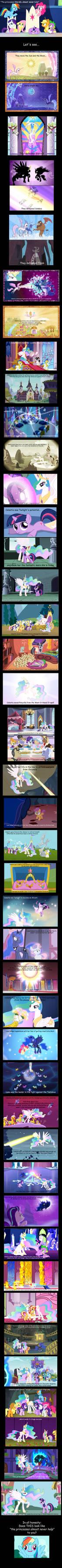 The Princesses Never Help