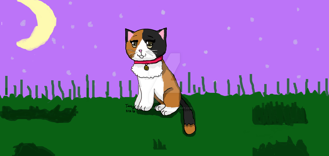 Signature Calico Cat Art by SugarAndSpiceKat