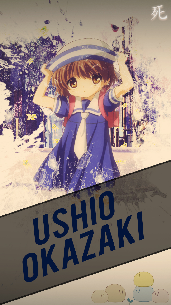 Ushio Okazaki Clannad Wallpaper Hd By Chimozuki On Deviantart