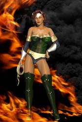 Curia the Dragonheart by amazonarrow