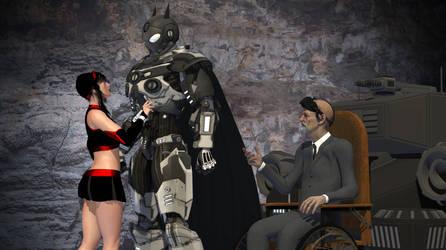 The Noir Knight Returns by amazonarrow
