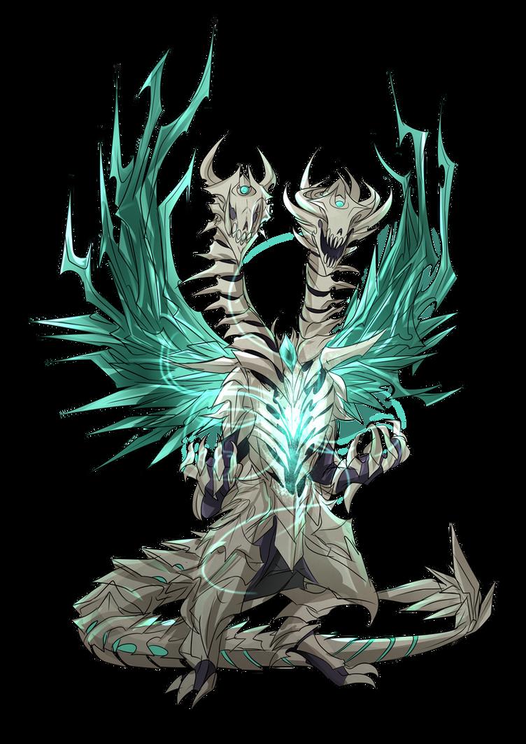Pathfinder Monster (Bone Dragon) by Neuroticpig