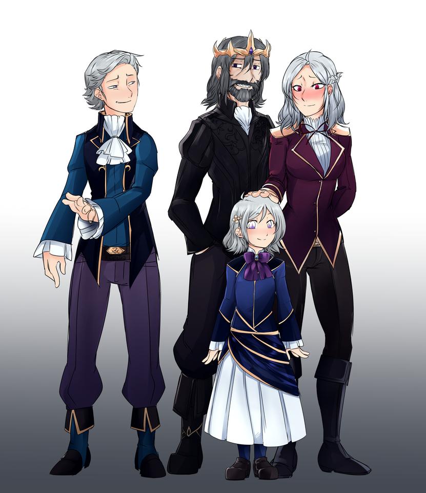 Eldrin Royal Family Circa 1793 by EmperorNeuro