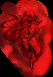 Pathfinder Monster (Phantom, Red) by EmperorNeuro