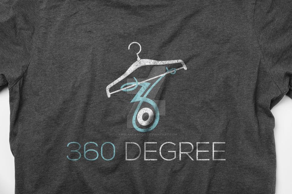 360 Degree Clothing Logo design by arslanfarooq