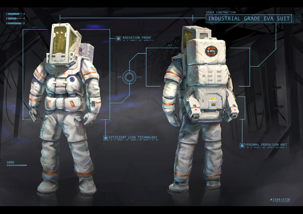 Space Suit Design By SyncUP On DeviantArt