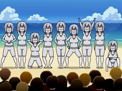 Nine Sisters by Benusamuneth