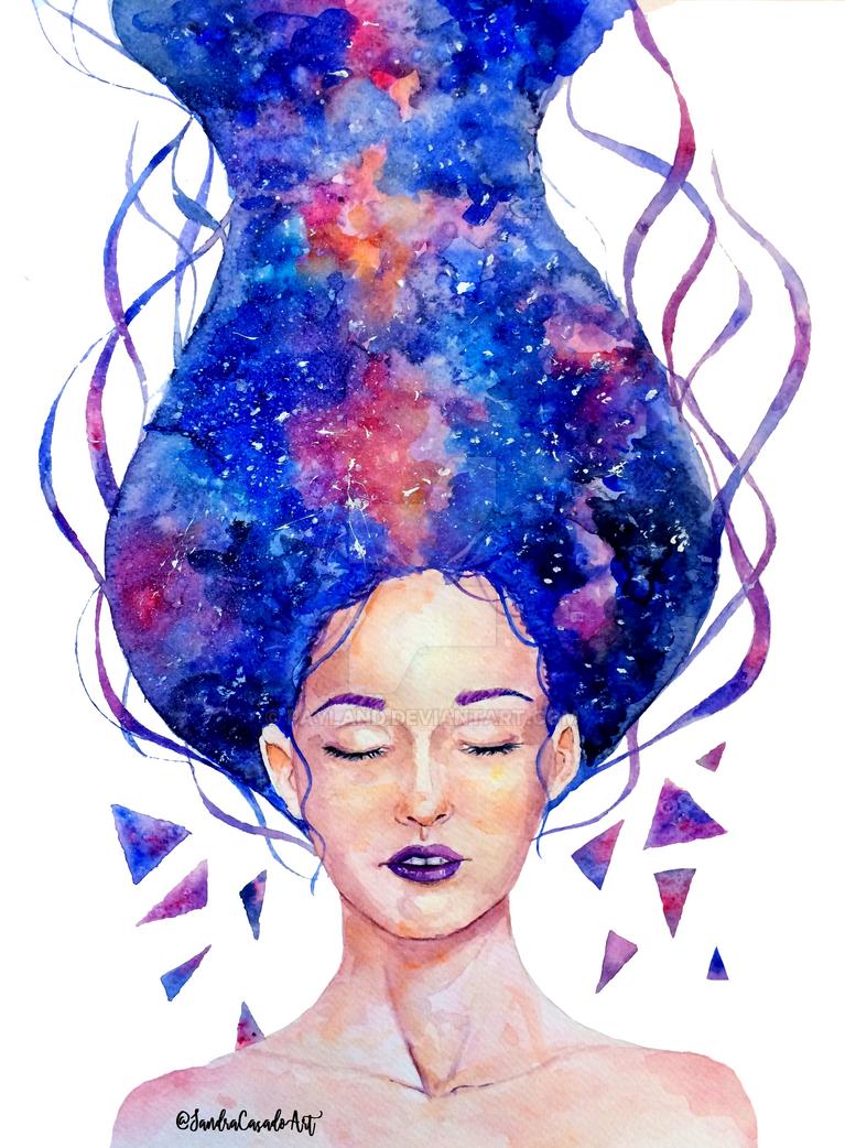 Galaxy Girl by Fayland