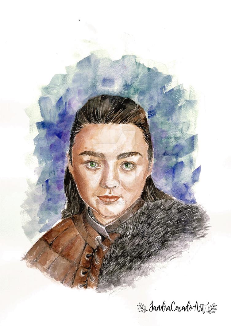 Arya Stark by Fayland