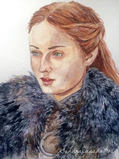 Sansa Stark by Fayland
