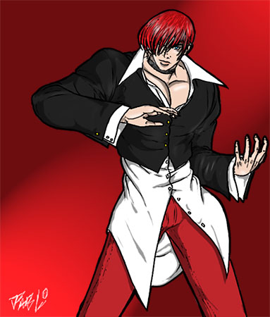 Iori Yagami.by JP by Clan-Yagami